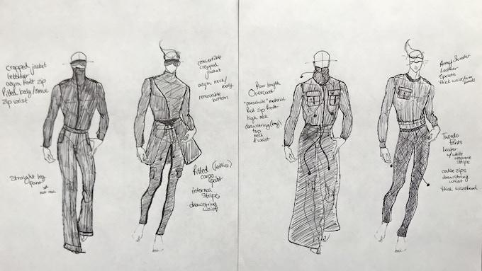 Collection 1 Rough Sketches