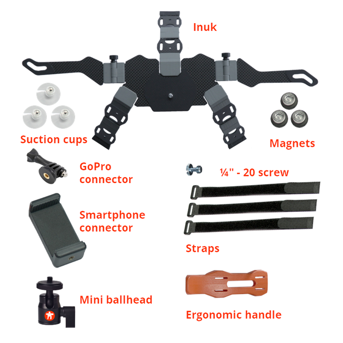 Video Maniac Kit: Inuk with all the best accessories