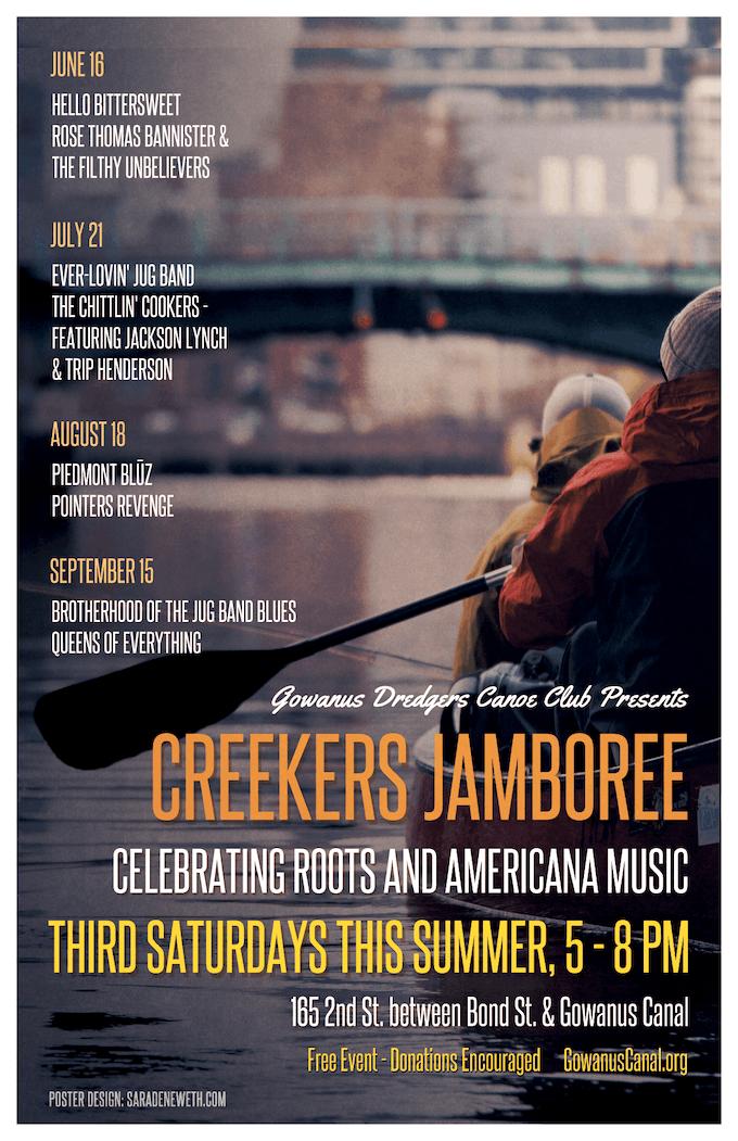 Creekers Jamboree Poster 2018