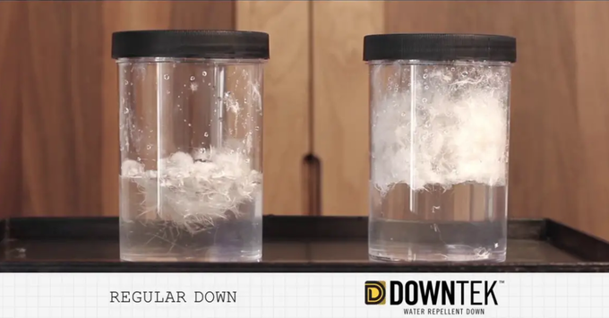 DownTek vs regular down