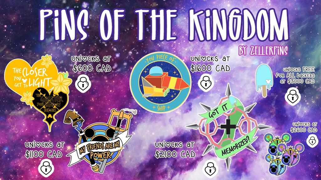 Pins of the Kingdom - Enamel Pin Collection