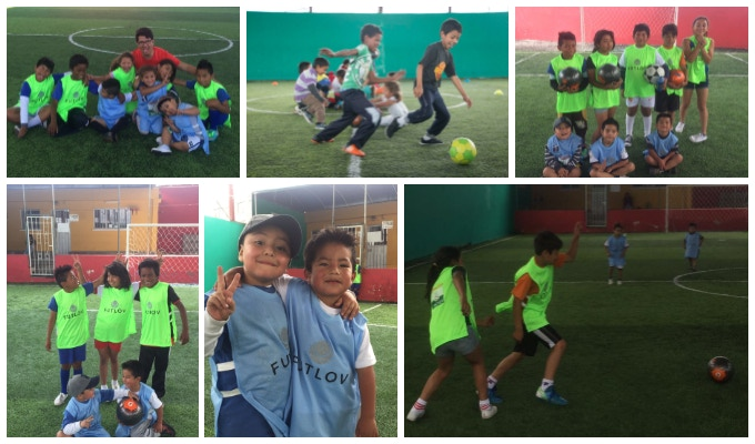 Children of El Semillero who received Futlov gear during one of our first trips.
