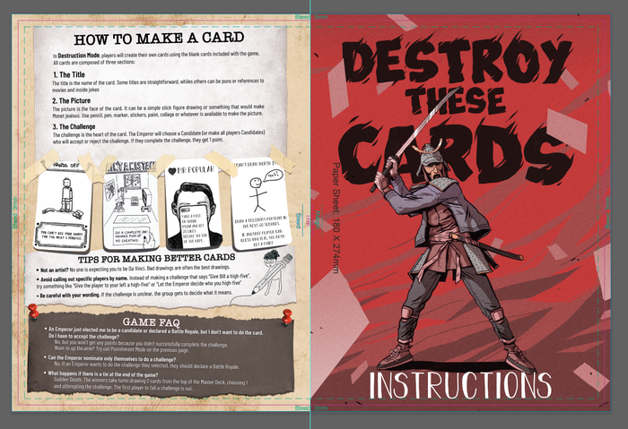 Destroy These Cards by Mount Sahara » February Update — Kickstarter
