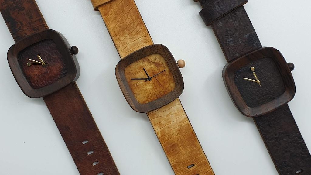 The World's First Mushroom Wooden Watch