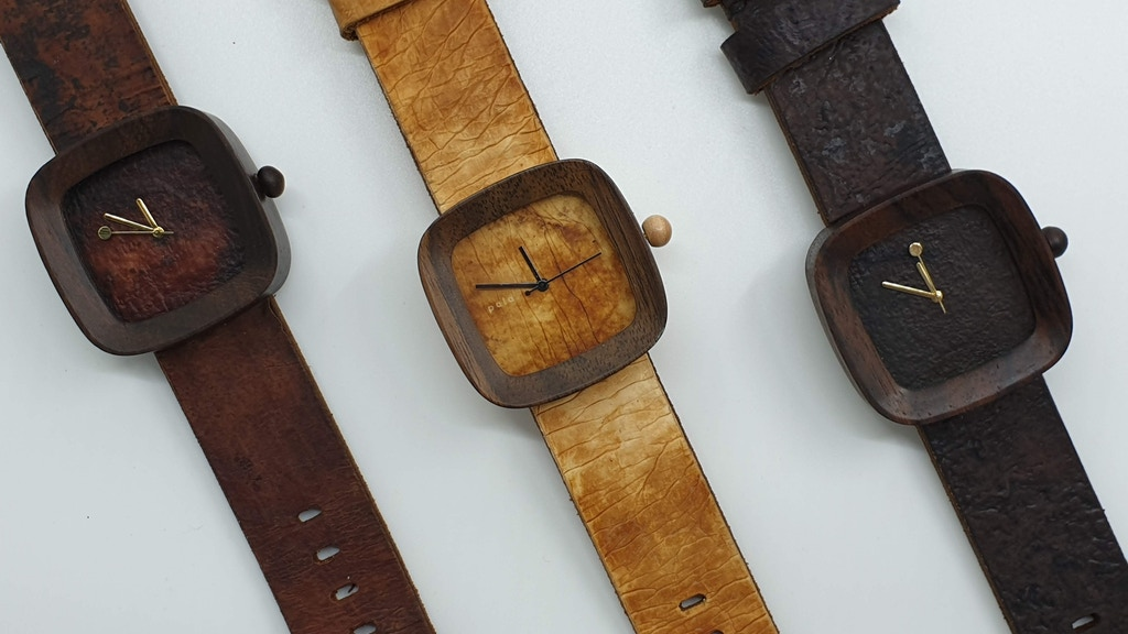The World's First Mushroom Wooden Watch project video thumbnail