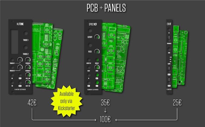 PCBs + Panel Reward Options (Non EU prices showed)