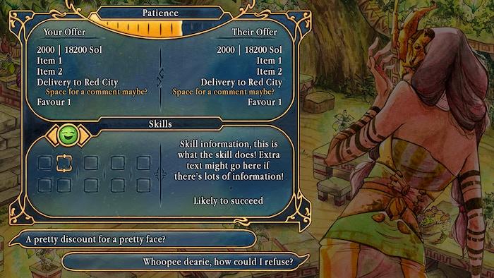 Selling Sunlight: a wandering merchant RPG by CoseBelle