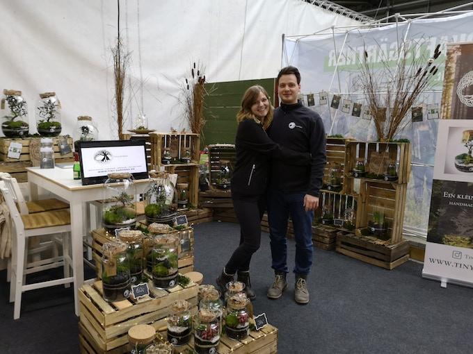 Kimi und Rasmus - Messe Gartenträume Berlin 2019