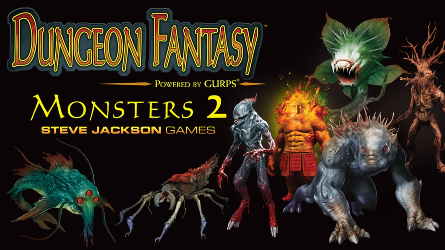 A collection of new monsters for use with the Dungeon Fantasy Roleplaying Game, Powered by GURPS!