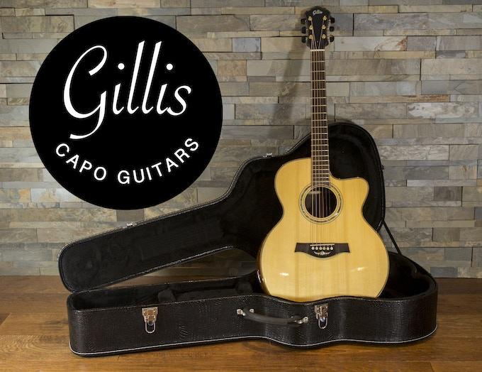 Gillis Capo Guitar with Gillis Capo System (9-Fret, Model 1)