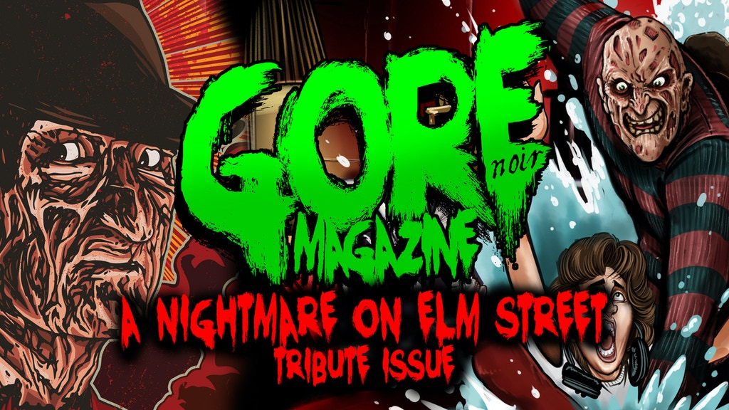 Gore Noir Magazine Nightmare on Elm Street Issue project video thumbnail