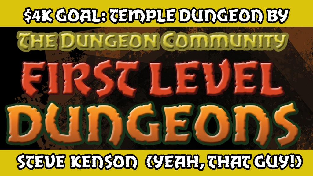 THE DUNGEON COMMUNITY FIRST LEVEL DUNGEON BOOK project video thumbnail