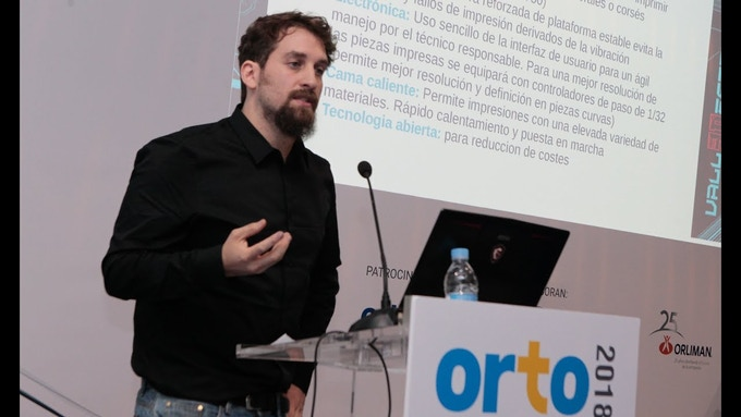 V3D design and craft at the lecture in Ortomedical care 2018