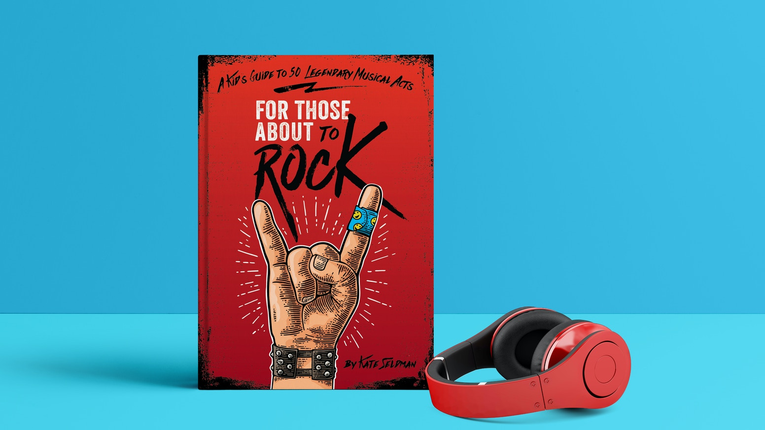A nonfiction book for kids 8-15 about rock n' roll luminaries.