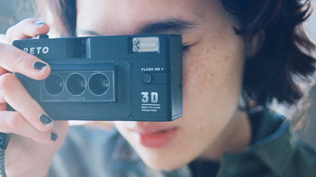 Wiggle The Moment : 3D Film Camera by RETO3D project video thumbnail