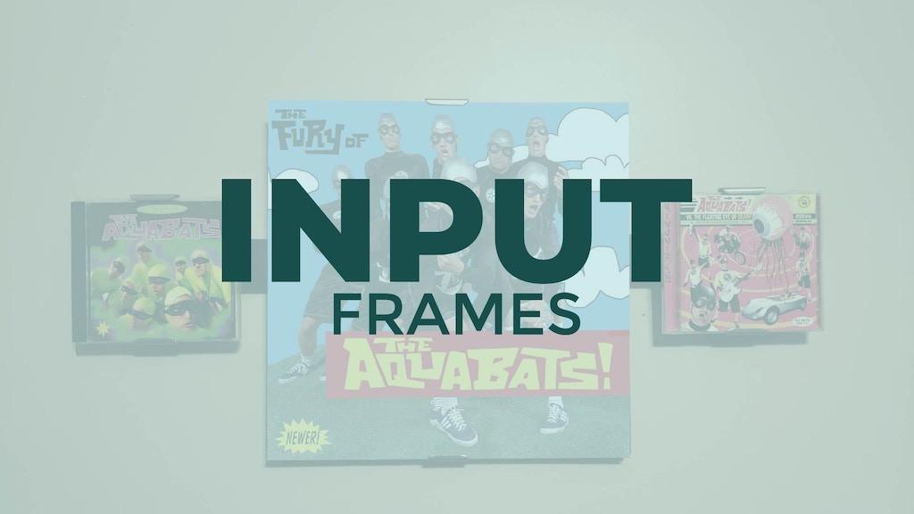 Project image for INPUT FRAMES : Magnetic Frame System