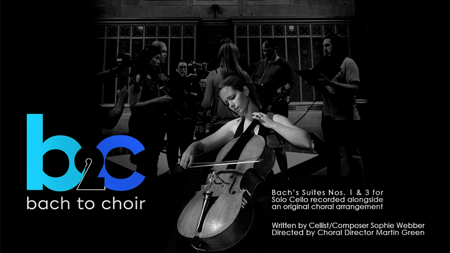 The hidden harmonies of your favourite Bach Cello Suite unleashed with choir! ...