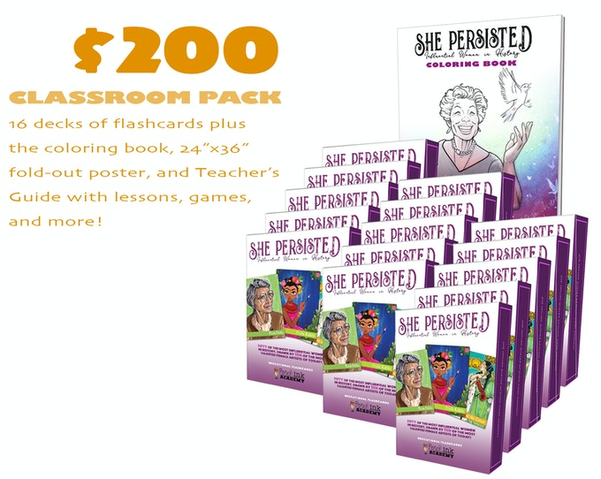 We've once again tapped Tim Smyth of History Comics to assist in the creation of 5 supplemental lesson plans plus games/icebreakers to be included in the Classroom Pack Reward, ensuring that educators can get the absolute most out of these cards.