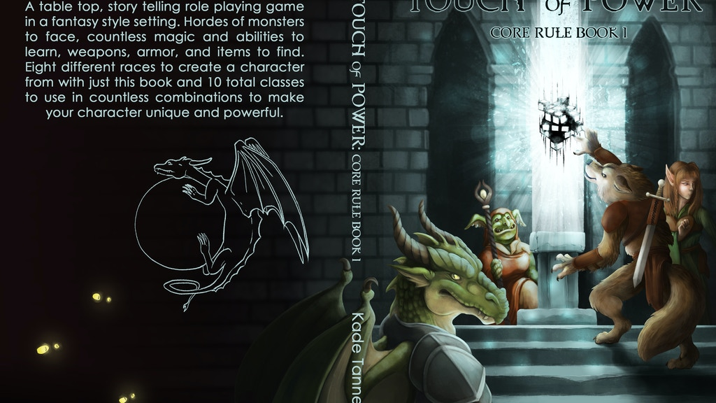 Project image for Touch of Power core rule book 1 and 2