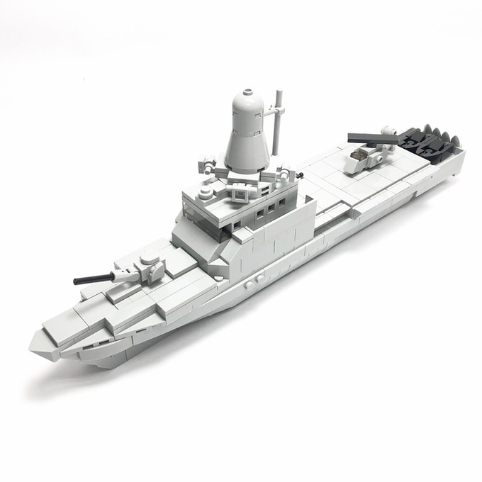 Independence-class Littoral Mission Vessel (34.7 x 6.4 x 12.3cm)