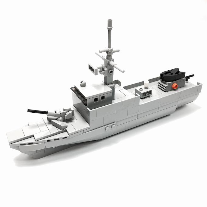 Fearless-class Patrol Vessel (25.6 x 5.6 x 13.6cm)