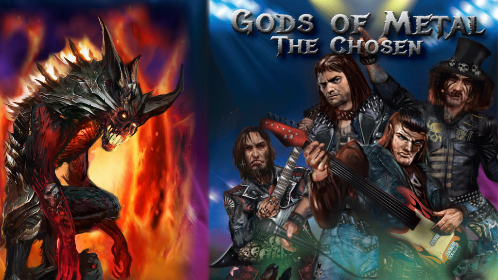 Project image for Gods of Metal: The Chosen (Canceled)