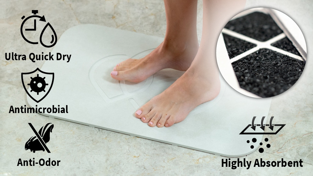 This MAT Soaks Up Moisture & Keeps Your Bathroom FRESH project video thumbnail