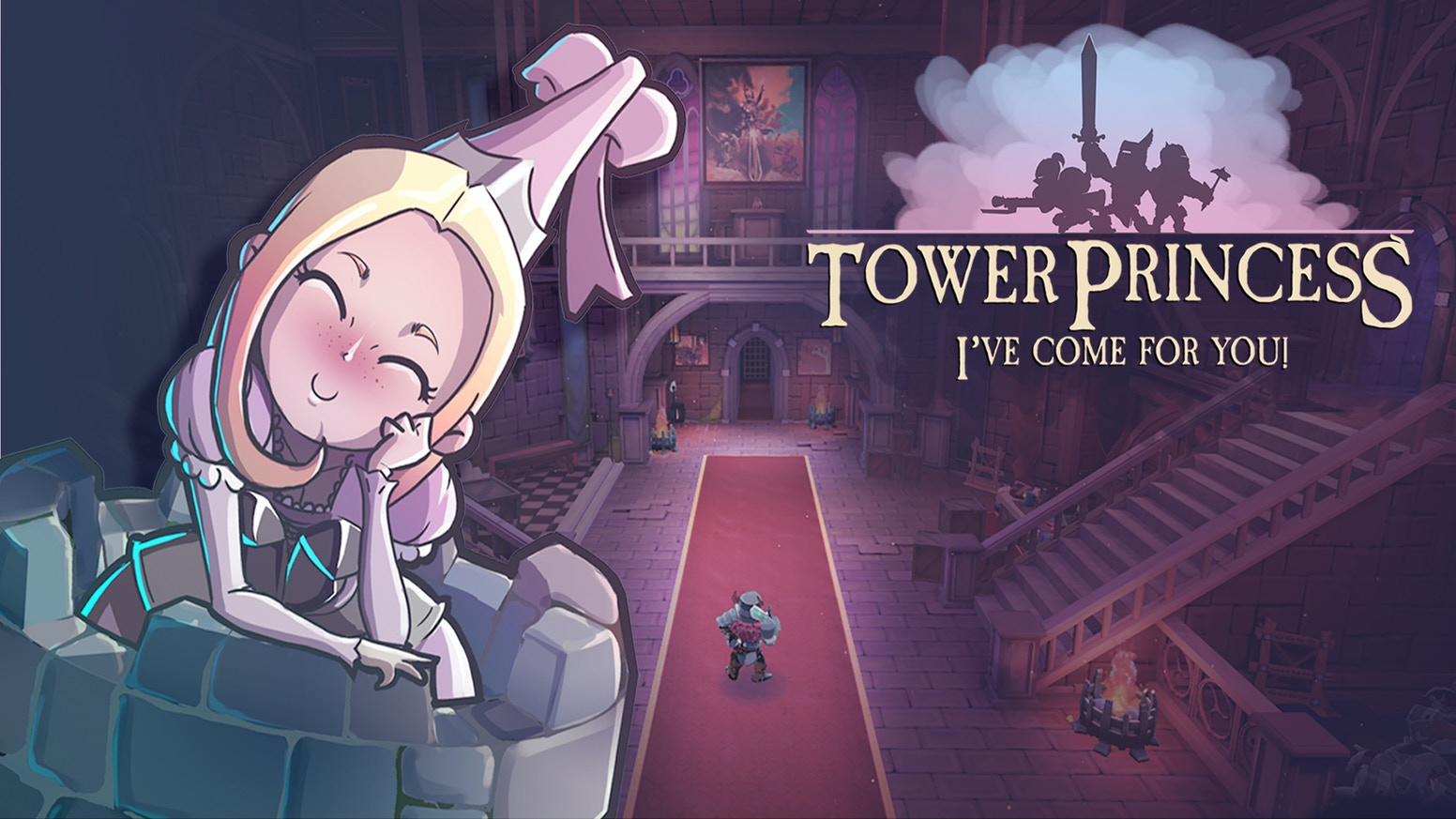 Rescuing the princess won't be enough anymore! You'll have to date her while facing a procedural dungeon in this 3D action platformer!