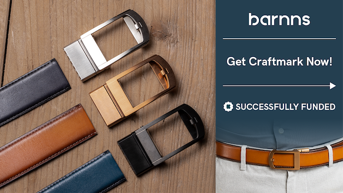 Craftmark is the first premium 2-in-1 leather belt that adjusts with your waistline to ensure the perfect fit for ultimate comfort