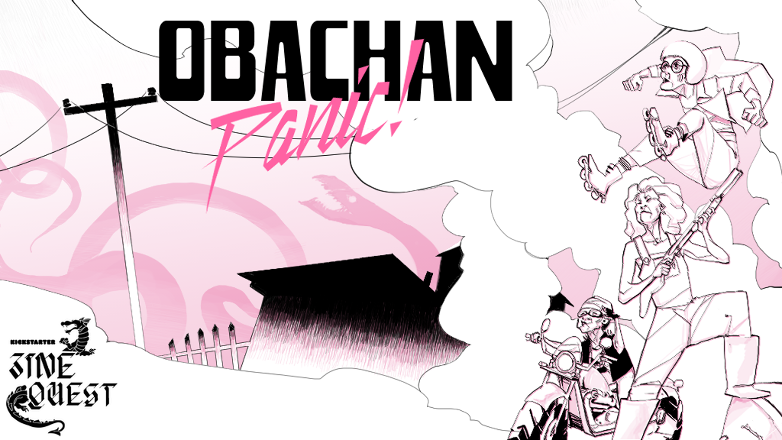 Obachan Panic Rpg Zine By Flyaturtle Kickstarter
