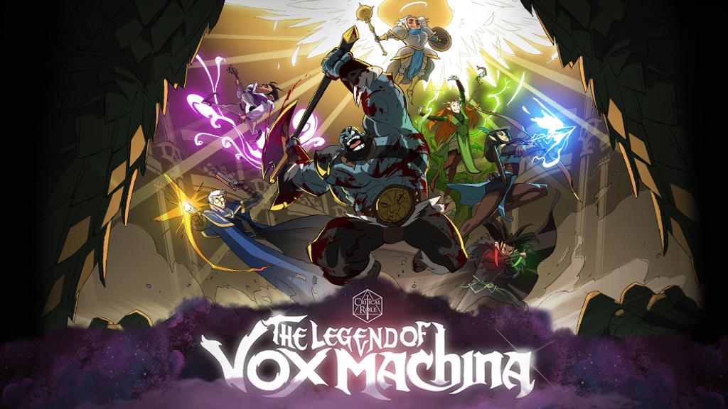 Miniature de la vidéo du projet Critical Role: The Legend of Vox Machina Animated Special