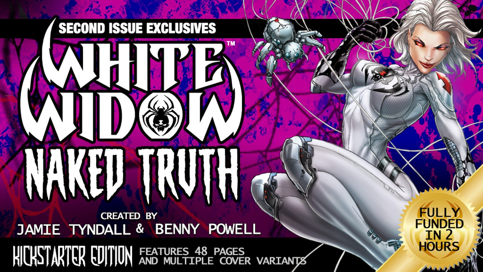 Second issue of the new hit comic by Jamie Tyndall