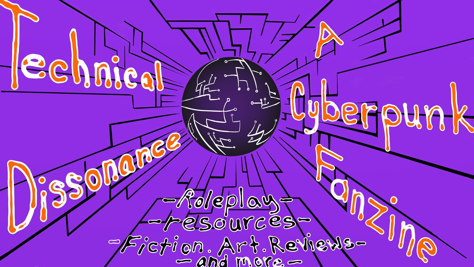 A Cyberpunk roleplaying games and culture zine. #ZineQuest