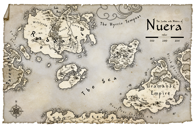 Map of Nuera