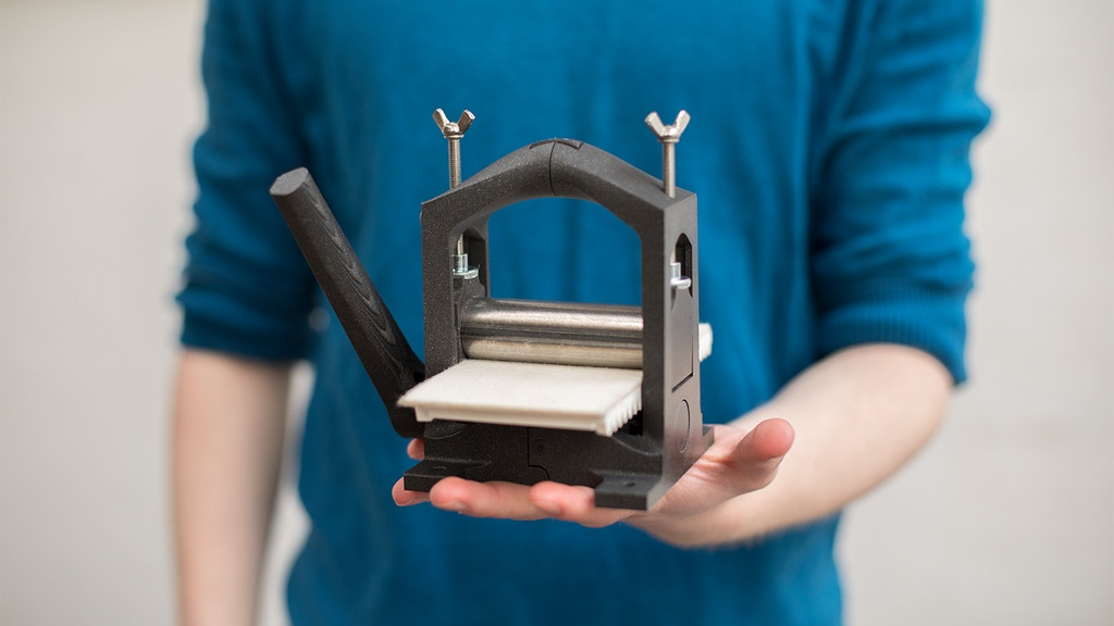 Open Press Project - The first 3D-Printed Printmaking Press project video thumbnail