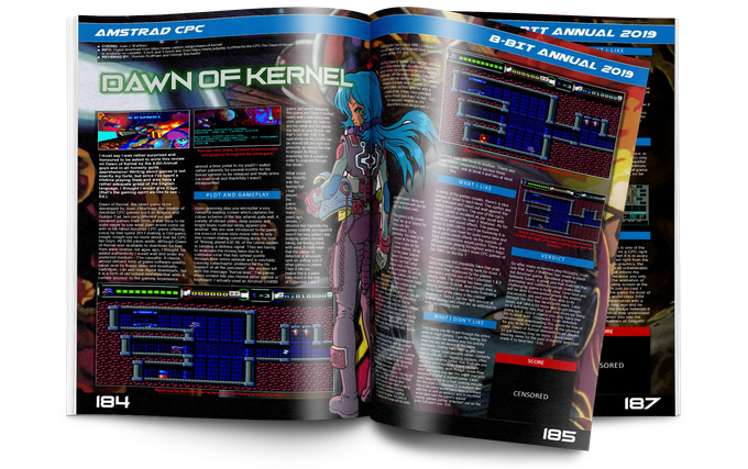 Dawn of Kernel for the Amstrad CPC.
