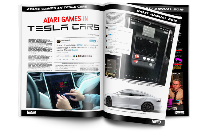 Atari games in Tesla cars, just two pages out of hundreds!