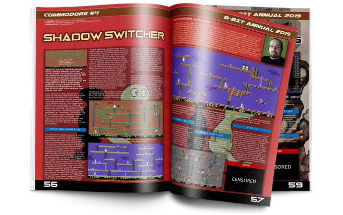 Shadow Switcher for the Commodore 64.