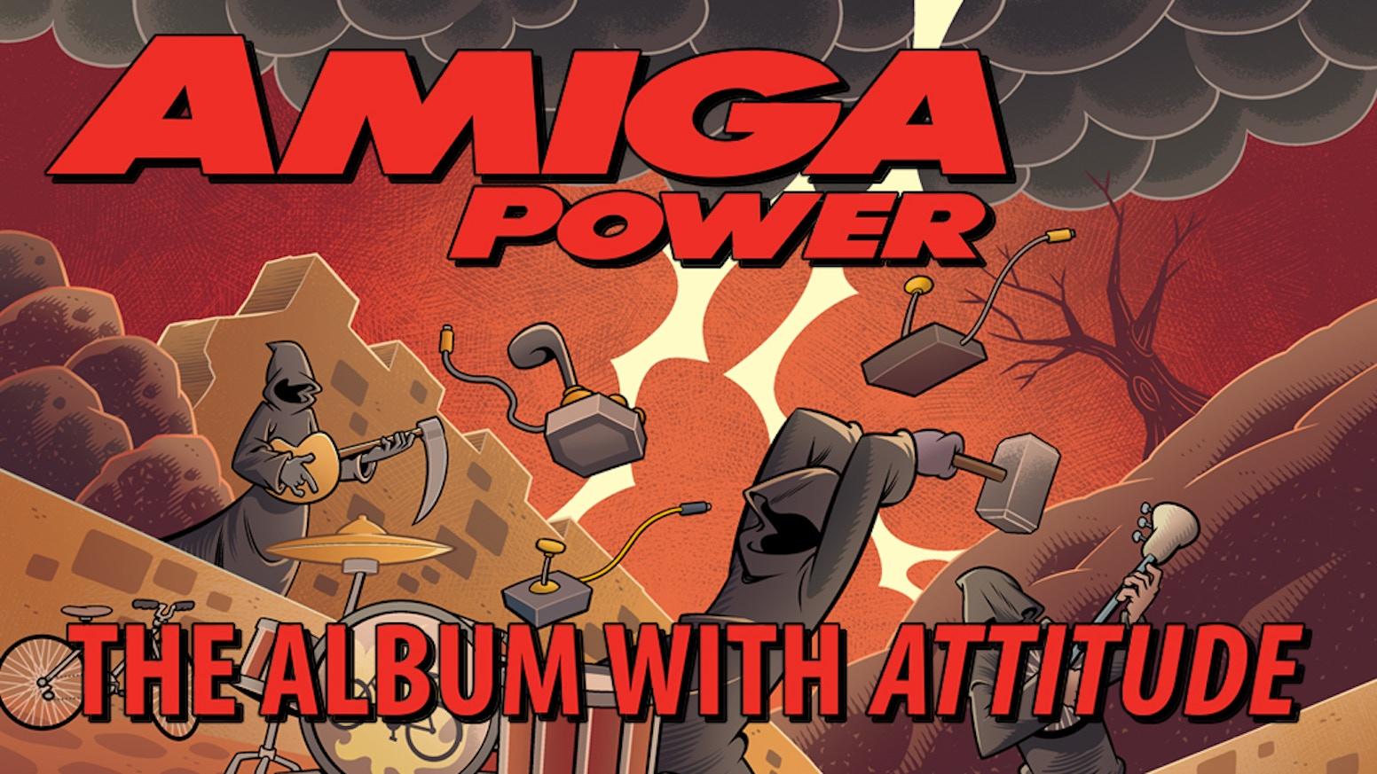 Amiga Power: The Album With Attitude by Matthew Smith