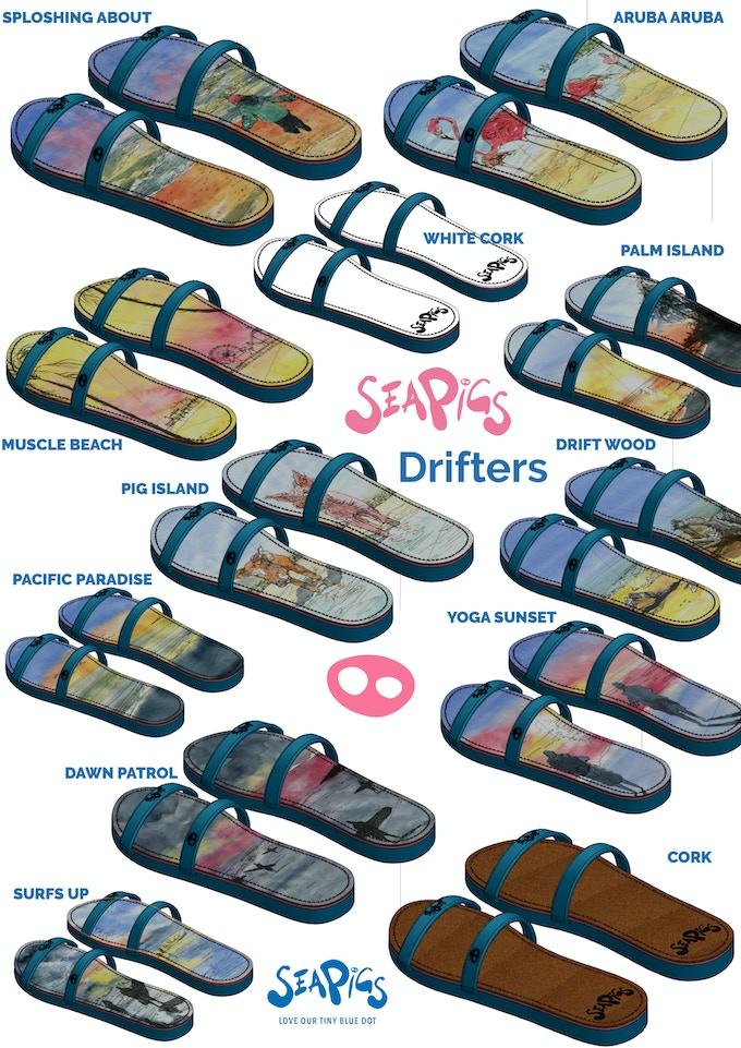 SeaPigs Drifters - Kickstarter Range