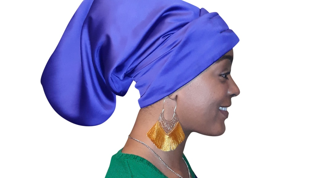 Exclusive-B Satin Lined Cap Is The Key To Protected Hair