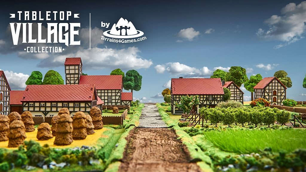 TABLETOP VILLAGE Collection by Terrains4Games project video thumbnail