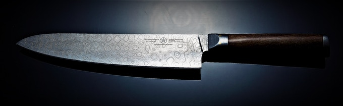 Arminius  Raindrop damascus Pattern design