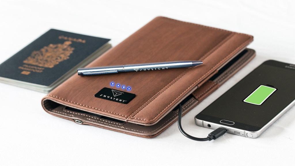 SKYLIGHT® iTravel Smart Wallet project video thumbnail