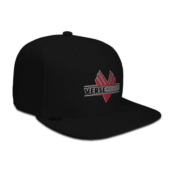 Verse Comics hat being offered as a reward.(Hat is a mock up.  Final product may vary slightly from sample image shown.)