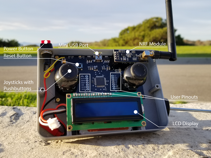The Pilot Remote Control for Arduino! by Schindler Technologies