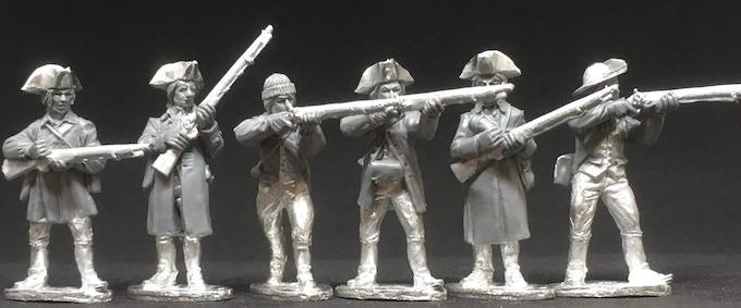 picture #2 - American Militia Firing I