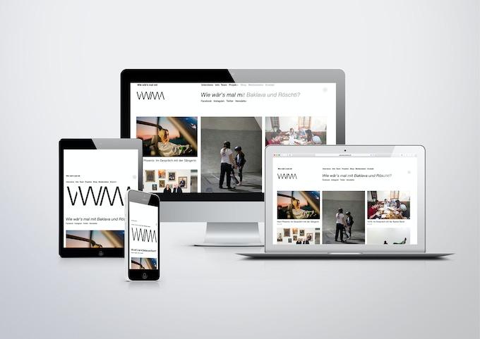 Webseite und Social Media von wiewaersmalmit.ch