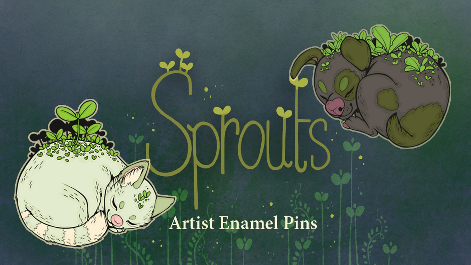 The magic within plants and animals in compact and convenient pin form!