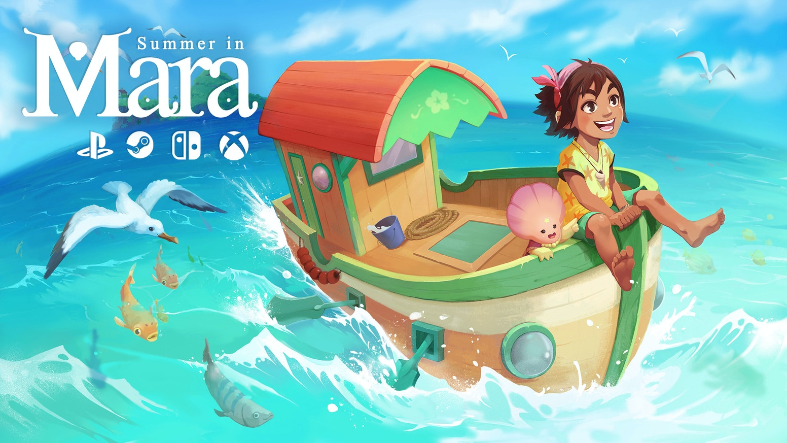 Take care of your own island in a single-player summer adventure with farming and crafting. Explore with your boat. PS4 Switch Xbox PC